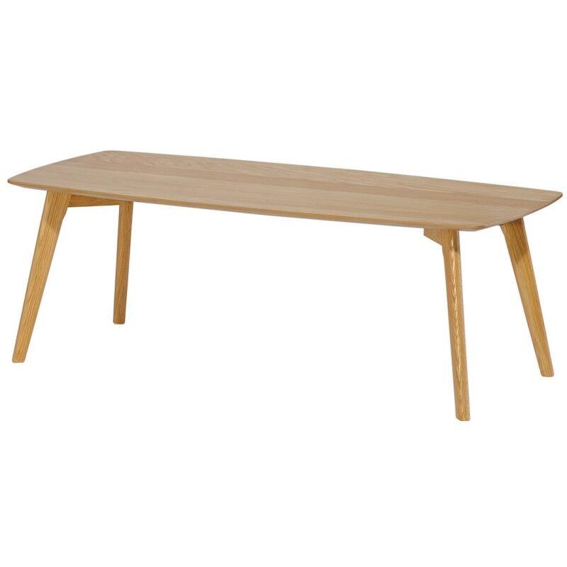 Beaux Meubles Pas Chers Table Basse Rectangle 110 cm Chêne