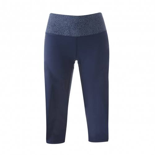 adidas Pantalon 3/4 Tight Femme Bleu  - L OL - Foot Lyon