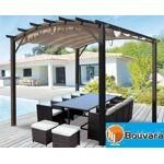 Bouvara Tonnelle de jardin 3,40x3,30m, 11m2 Tonnelle de jardin de 11,22... par LeGuide.com Publicité