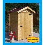 Bouvara abri de jardin en bois EDEN 1.20 X 1.20 m avec plancher Abris... par LeGuide.com Publicité