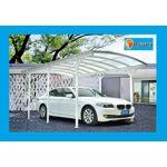 Bouvara Carport alu blanc 5,76x3m pour grand vehicule Carport en aluminiumet... par LeGuide.com Publicité