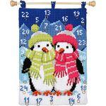 Verachtert Calendrier de l'Avent à broder  pingouins  Calendrier... par LeGuide.com Publicité