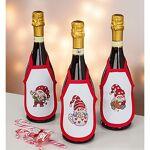 Tabliers de bouteille à broder  lutins , set de 3 pièces Tabliers de... par LeGuide.com Publicité