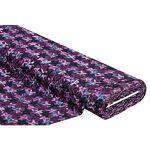 Tissu jersey jacquard  motif graphique , violet multicolore Tissu jersey... par LeGuide.com Publicité