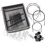 Knit Pro KnitPro Set de 7 aiguilles circulaires  Karbonz , fibres en... par LeGuide.com Publicité