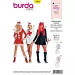 burda  Burda Patron burda easy 2464 pour déguisements femme  Père Noël,... par LeGuide.com Publicité