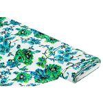 Tissu extensible  fleurs , vert multicolore Tissu extensible  fleurs... par LeGuide.com Publicité