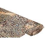 Tissu crêpe en viscose  léopard , marron multicolore Tissu crêpe en viscose... par LeGuide.com Publicité