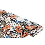 Tissu crêpe  léopard & fleurs , multicolore Tissu crêpe  léopard... par LeGuide.com Publicité