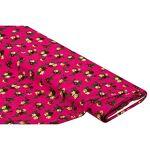 Tissu javanaise  fleurs , rose vif multicolore Tissu javanaise  fleurs... par LeGuide.com Publicité