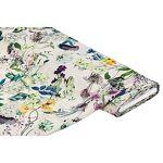 Tissu chiffon  fleurs , écru multicolore Tissu chiffon  fleurs , écru... par LeGuide.com Publicité