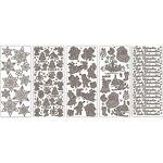 Set d´écriture en relief motif  Noël , 23 x 10 cm, 5 feuilles Set stickers... par LeGuide.com Publicité