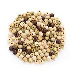Perles en bois, tons marron, en dimensions différentes Perles en bois,... par LeGuide.com Publicité