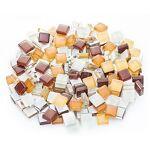 Tesselles en verre doux, tons marron, 10 x 10 mm, 200 g Tessellesen... par LeGuide.com Publicité