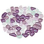 Tesselles en verre doux, tons violet, forme polygonale, 10 - 20 mm, 200... par LeGuide.com Publicité