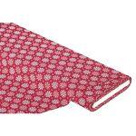 buttinette  Buttinette Tissu coton  fleur graphique , marsala Exclusivité... par LeGuide.com Publicité