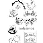 Set de tampons en silicone  Occasions particulières  Set de tampons en... par LeGuide.com Publicité