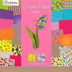 Papier origami  bubbles , 20 x 20 cm, 60 feuilles Papier origami  bubbles... par LeGuide.com Publicité