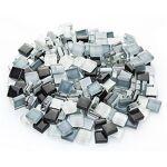 Tesselles en verre doux, tons gris, 10 x 10 mm, 200 g Tessellesen verre... par LeGuide.com Publicité