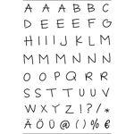 Tampons transparents  lettres majuscules  Tampons transparents  lettres... par LeGuide.com Publicité