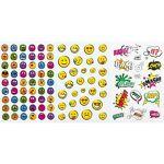 Autocollants  Smileys & écritures , 3 motifs, 7 feuilles Autocollants... par LeGuide.com Publicité