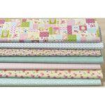 buttinette  Buttinette Lot de 7 coupons de tissu patchwork  volière , rose/vert... par LeGuide.com Publicité