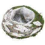 Pot de plantation en mousse et écorce, blanc/vert, 25 cm Ø Pot de plantation... par LeGuide.com Publicité
