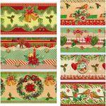 Set de banderoles thermo-rétractables  Noël , 7 pièces Set de banderoles... par LeGuide.com Publicité
