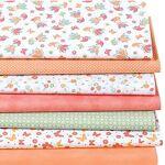 buttinette  Buttinette Lot de 7 coupons de tissu patchwork  lutins , orange/vert... par LeGuide.com Publicité