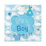 Serviettes en papier  It's a Boy , bleu Serviettes en papier  It's... par LeGuide.com Publicité