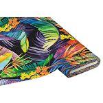 Tissu de décoration en coton  jungle , noir multicolore Tissu de décoration... par LeGuide.com Publicité