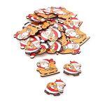Motifs déco  Pères Noël , rouge/marron/blanc, 4 cm, 24 pièces Motifs... par LeGuide.com Publicité