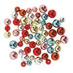 Perles rondes, 8, 10, 12 mm Ø, 57 pièces Perles rondes, argent/or/bleu... par LeGuide.com Publicité