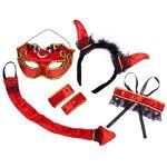 Set  diable , rouge/noir Set  diable , rouge/noir, set composé d´un serre-tête... par LeGuide.com Publicité