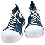 Chaussures de clown, bleu jeans Chaussures de clown, bleu jeans, encaoutchouc... par LeGuide.com Publicité