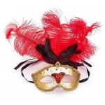 Masque  Venise , rouge/or Masque  Venise , rouge/or.particularités :... par LeGuide.com Publicité