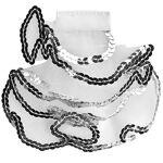 Jabot enfant, blanc/argent Jabot enfant, blanc/argent, en tissu tulle... par LeGuide.com Publicité