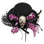 Mini-chapeau avec tête de mort Mini-chapeau avec tête de mort, recouvert... par LeGuide.com Publicité