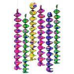 Petites guirlandes à spirale  métallique , multicolore Petites guirlandes... par LeGuide.com Publicité