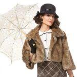 Veste courte en imitation fourrure pour femmes Veste courte en imitation... par LeGuide.com Publicité