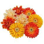 Boutons de fleurs, jaune/orange, 7 cm Ø, 8 pièces Boutons de fleurs,... par LeGuide.com Publicité