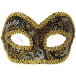 Masque vénitien, noir/or/argent Masque vénitien, noir/or/argent, en plastique,... par LeGuide.com Publicité