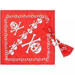 Foulard  pirate , rouge/blanc, 2 pièces Foulard  pirate , rouge/blanc,... par LeGuide.com Publicité