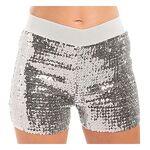 Mini-short à paillettes, argent Mini-short à paillettes, argent, en tissu... par LeGuide.com Publicité