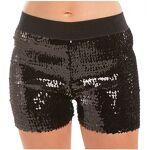 Mini-short à paillettes, noir Mini-short à paillettes, noir, en tissu... par LeGuide.com Publicité