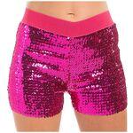 Mini-short à paillettes, rose vif Mini-short à paillettes, rose vif,... par LeGuide.com Publicité
