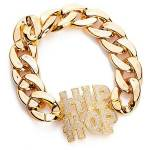 Bracelet  HipHop  pour hommes et femmes, or Bracelet  HipHop  pour hommes... par LeGuide.com Publicité