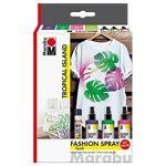 marabu  Marabu Set de peinture pour tissu  Fashion-Spray  de Marabu  Tropical... par LeGuide.com Publicité
