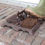 ESSCH Grattoir à chaussures en fonte avec brosse en fibre de coco - Esschert... par LeGuide.com Publicité