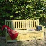 cemonjardin  Cémonjardin Banc de jardin 4 places avec coffre en bois traité... par LeGuide.com Publicité